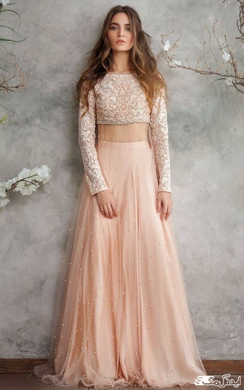 لباس نامزدی رنگی