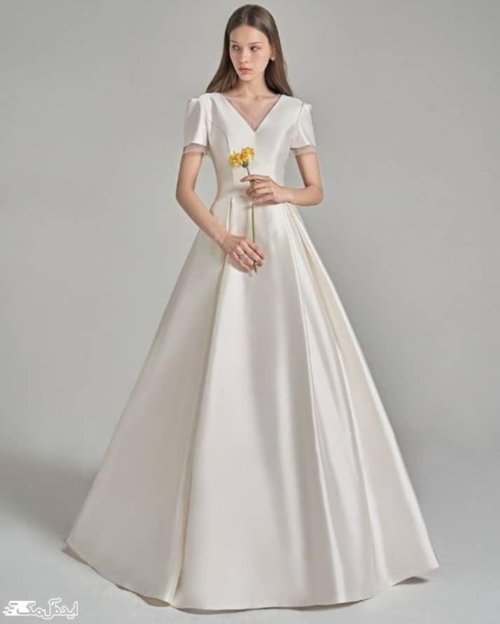 لباس عروس ساده نامزدی