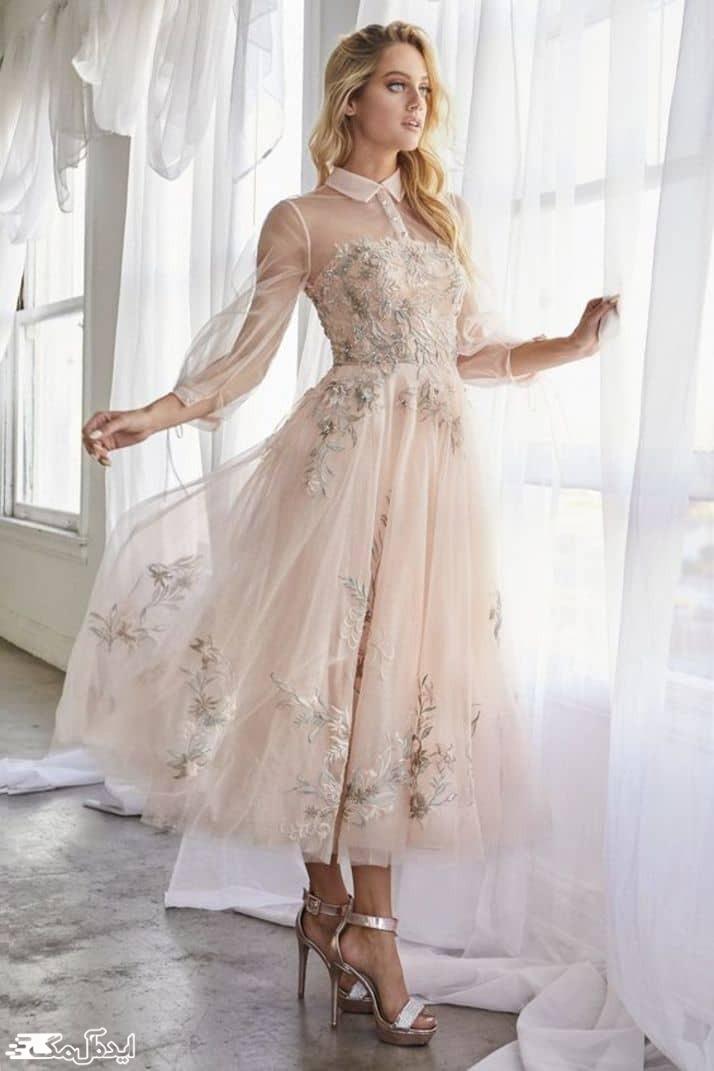 لباس عروس نامزدی کوتاه
