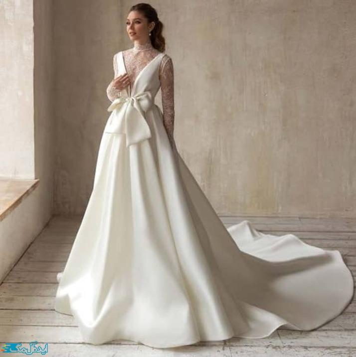 لباس عروس اروپایی خاص