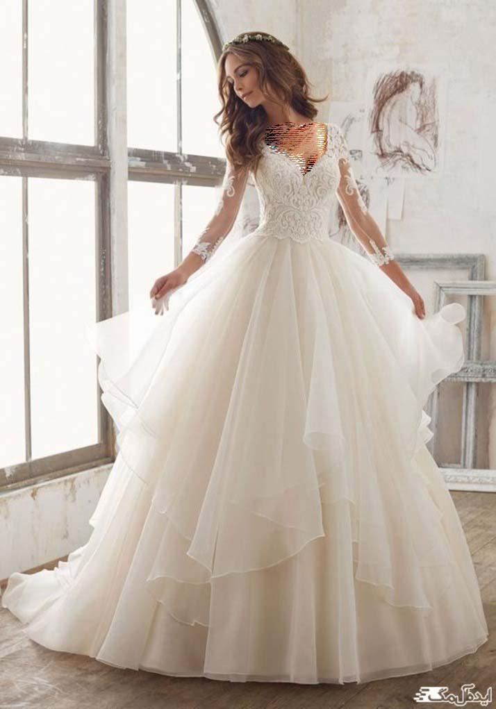لباس عروس پرنسسی اروپایی 2020
