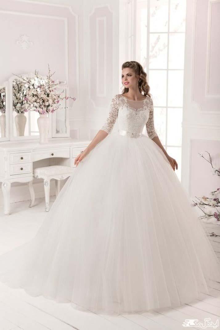 لباس عروس پفی 2020