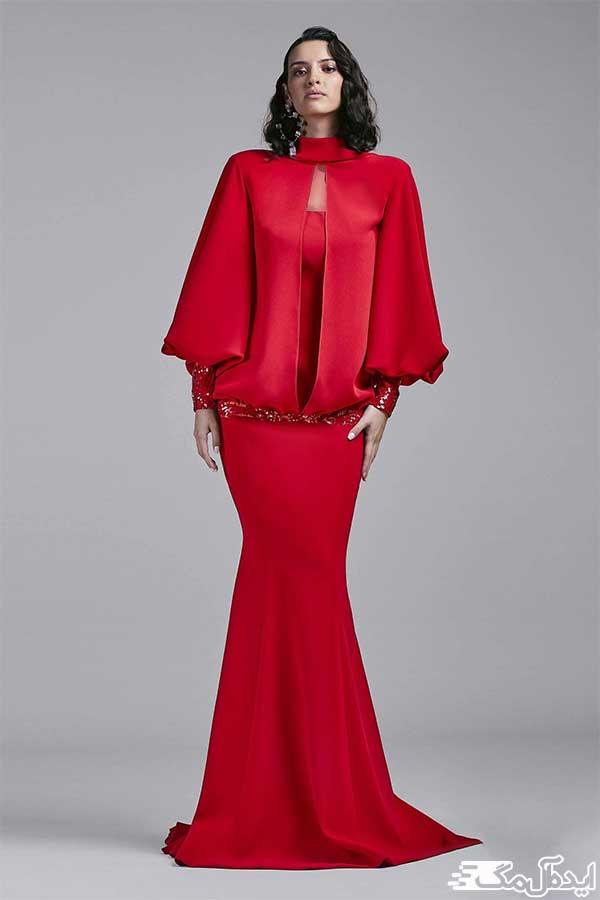 لباس مجلسی قرمز 2020