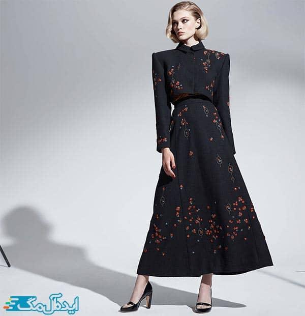 مدل کت و دامن زنانه مجلسی و پوشیده