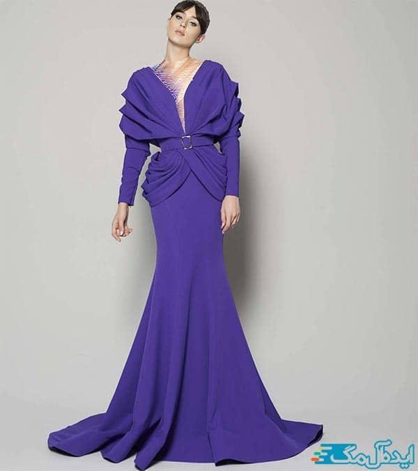 مدل لباس شب شیک و ساده