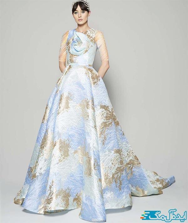 مدل لباس شب یقه دکلته
