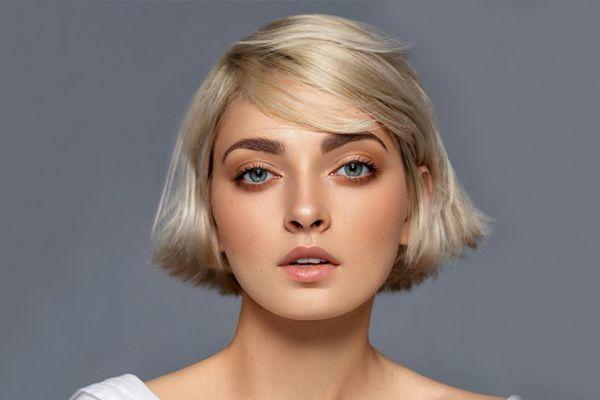 مدل موی کوتاه دخترانه برای صورت گرد