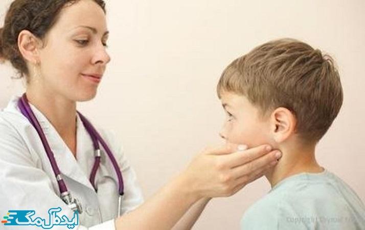 چگونه تیروئید پرکار کودکان تشخیص داده میشود؟