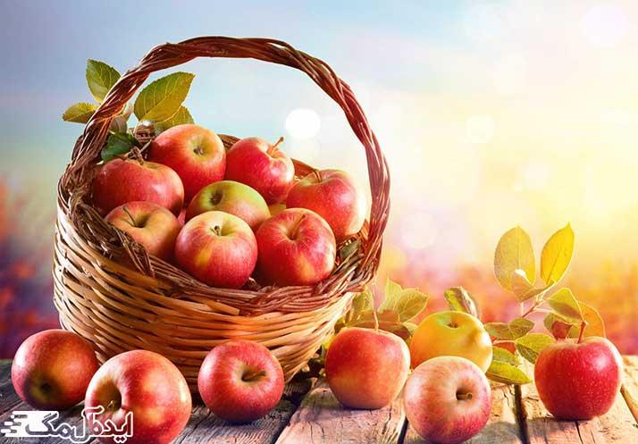 مقدار کالری سیب