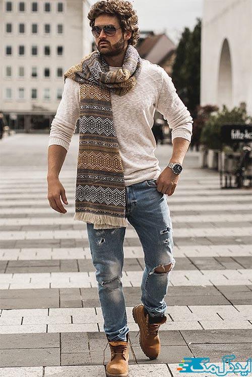 سبک بوهو در لباس مردانه