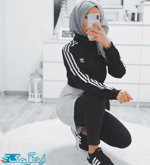سبک پوشش ورزشی زنانه