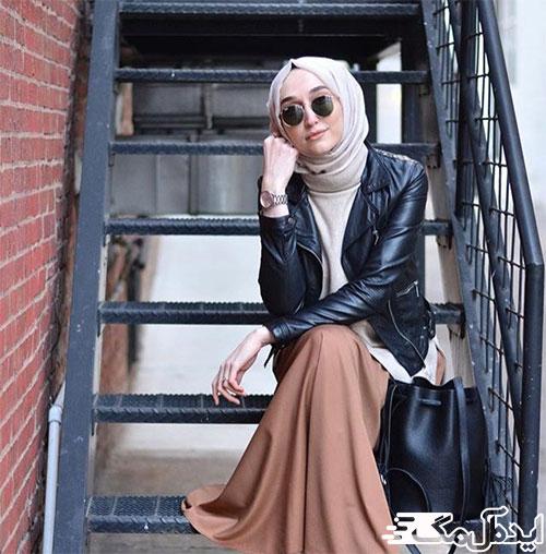 استایل راکر در لباس زنان مسلمان