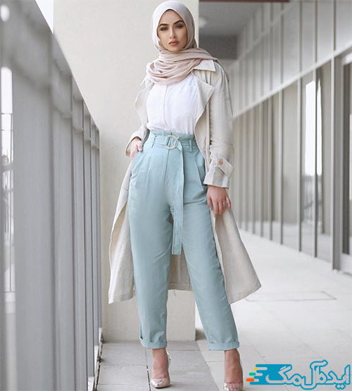 سبک پوشش مدرن در لباس زنانه