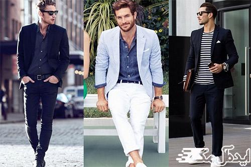 سبک پوشش مدرن در لباس مردانه