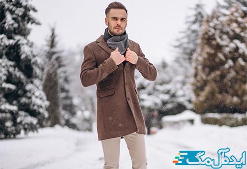 تیپ زمستانی جذاب برای آقایان