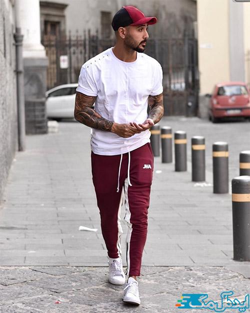 سبک پوشش ورزشی مردانه