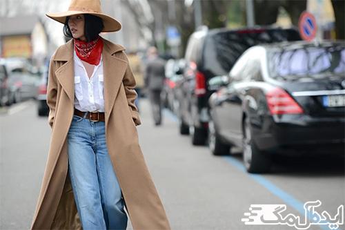 سبک پوشش کاو گرل در لباس زنانه