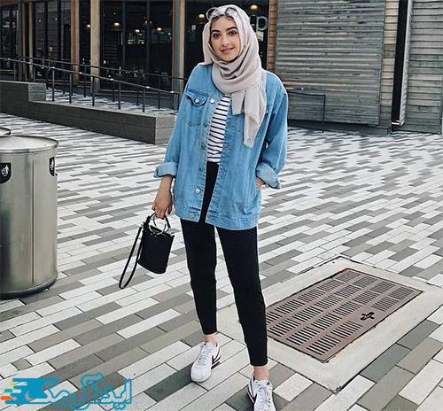 سبک پوشش کژوال زنانه