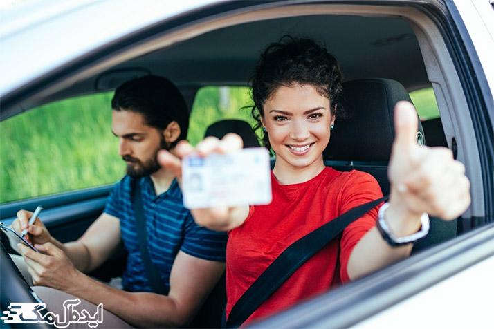 غلبه بر استرس امتحان رانندگی