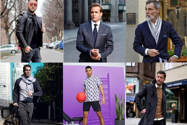 انواع ست لباس مردانه