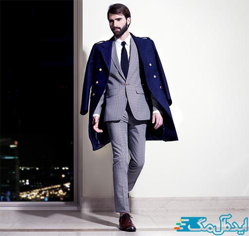 استایل مردانه رسمی برای زمستان