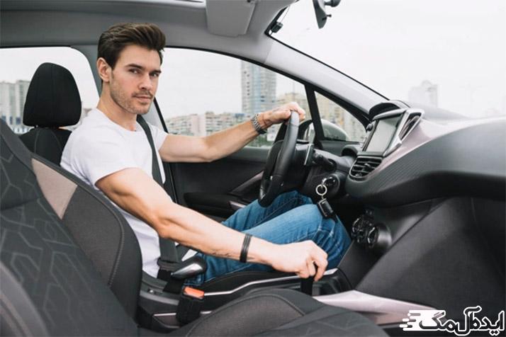 اعتماد به نفس آقایان در رانندگی