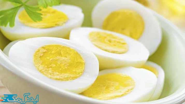 رژیم غذایی تخم مرغ