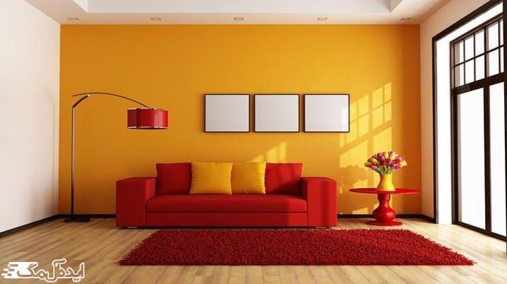 راهنمای کامل استفاده از رنگ زرشکی در منزل