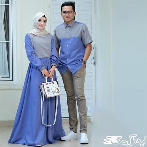 ست لباس مجلسی برای زن و شوهر