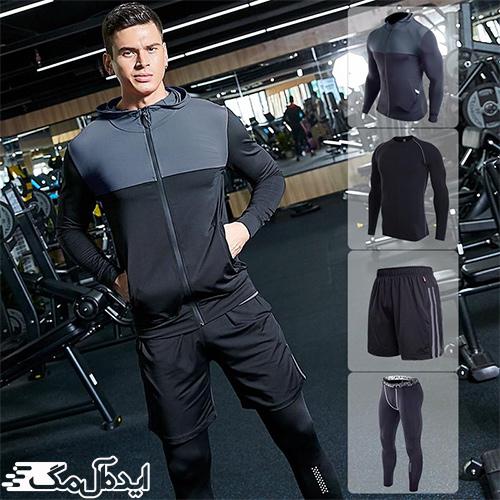 ست گرمکن و شلوار مردانه ورزشی