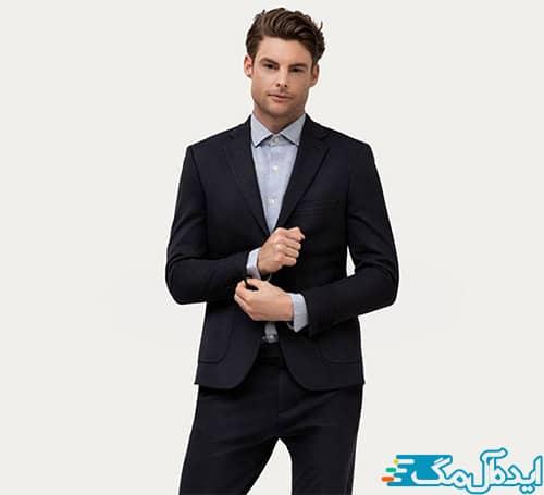 ست لباس مردانه رسمی ساده و شیک