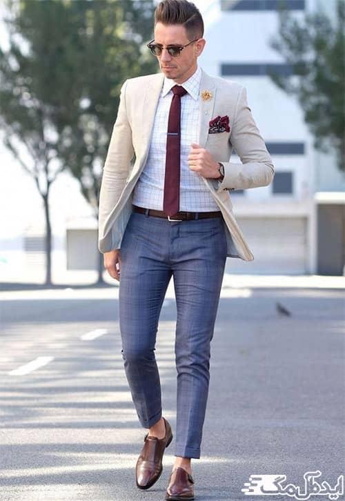 ست نیمه رسمی مردانه برای استفاده کژوال