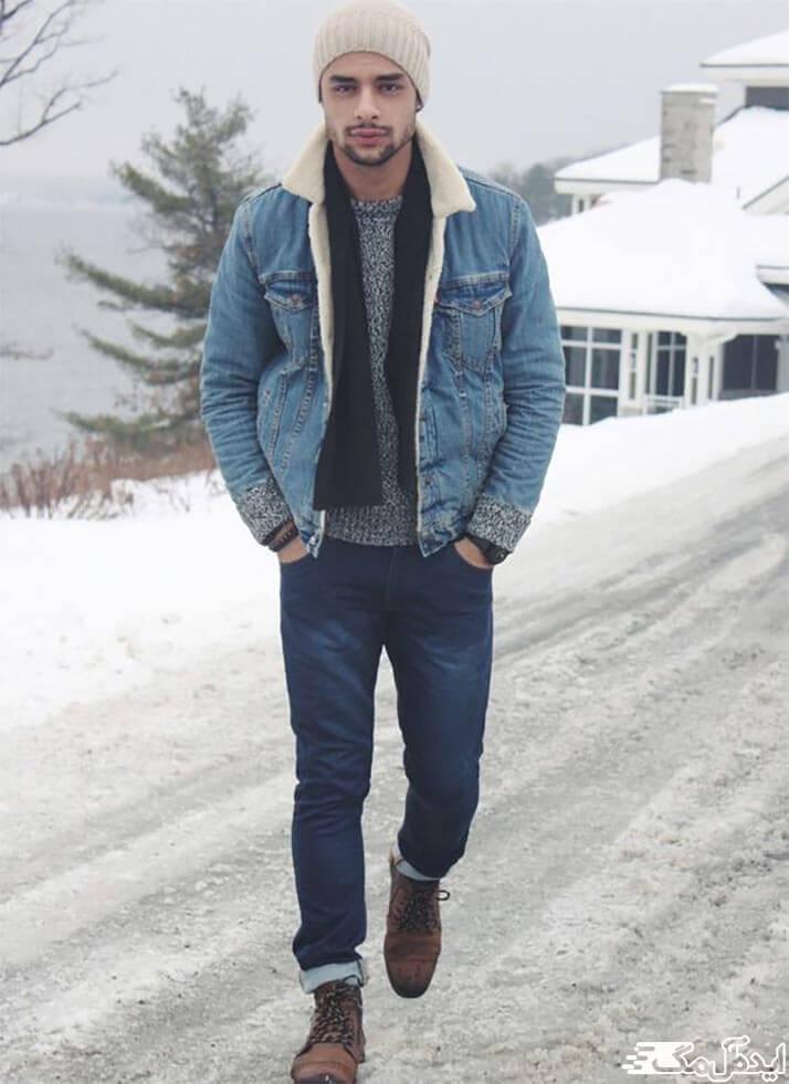 ست تیپ اسپرت مردانه برای زمستان