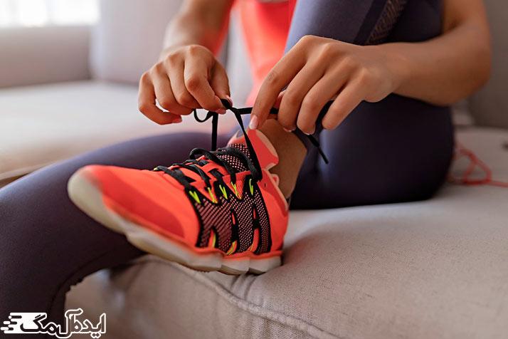 ورزش کردن و سوزاندن کالری غذاها