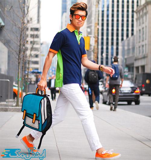 سبک پوشش ویبرانت در لباس مردانه