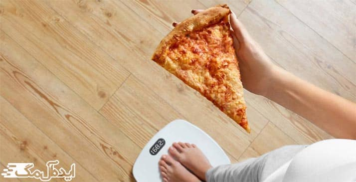 خوردن پیتزا در رژیم غذایی