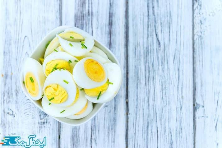 کالری تخم مرغ