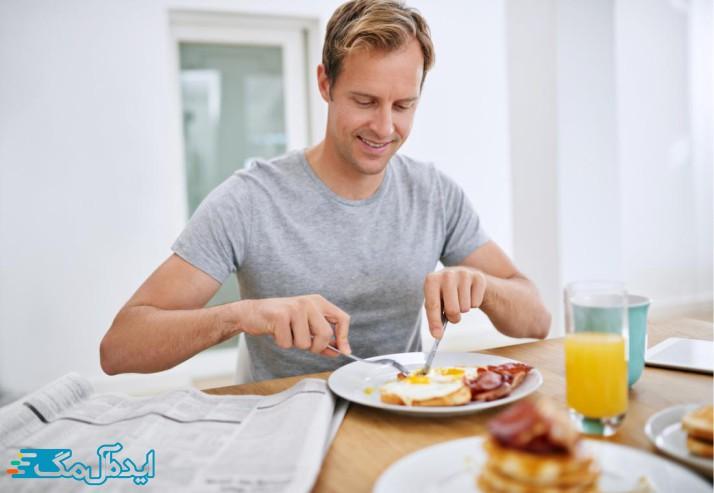 کالری مورد نیاز در مردان