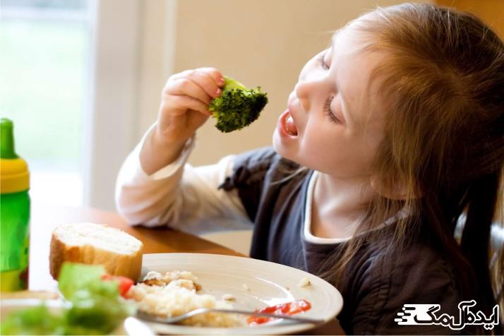 کالری مورد نیاز برای کودکان