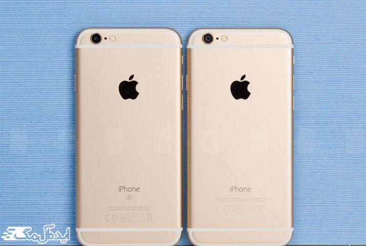 مقایسه ظاهرس iphone 6 با آیفون 6s