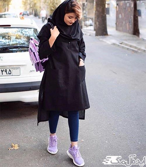 مدل کیف و کفش ست برای دانشگاه