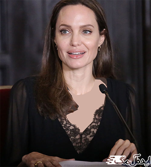 استایل آنجلینا جولی