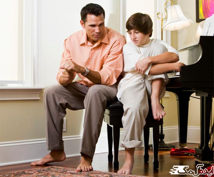 رفتار والدین در دوران بلوغ