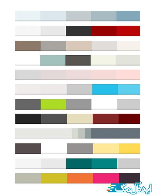 بهترین رنگهای برای ست کردن خاکستری