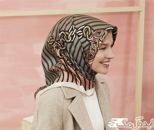 مدل روسری مجلسی 2021