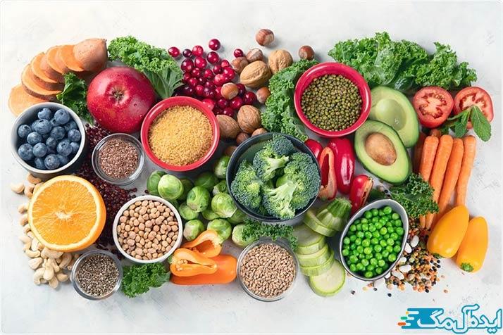 انتخاب رژیم غذایی با توجه به مزاج