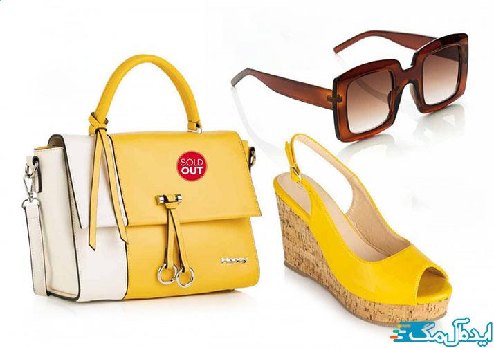 ست کیف و کفش رنگ سال 1400