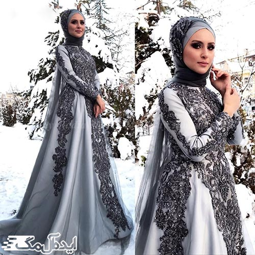 لباس مجلسی طوسی