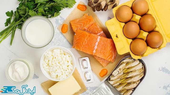 غذاهای حاوی ویتامین D