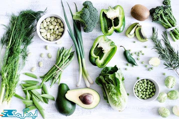 غذاهای حاوی ویتامین K